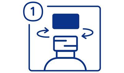 加護靈置放型使用方法步驟一,打開白色瓶蓋