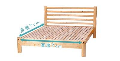 平面床架床墊尺寸測量方法