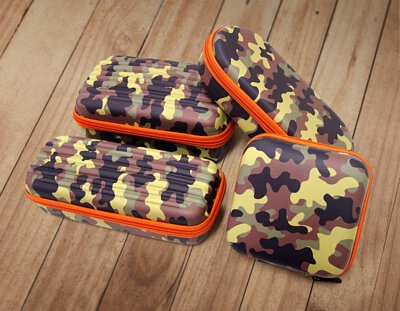 sannic,international,eva,back,to,school,wallet,pencil,case,bag,迷彩,Camouflage