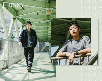 JERSCY美式休閒搭配,強化風格