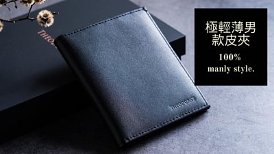 Theodora's,wallet,black,genuine leather,men