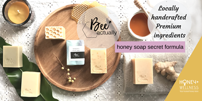 honey handmade soap made with the most natural ingredients and secret formulas