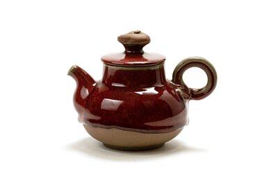 滿堂紅隨形壺/新百壺/台灣/陶作坊/泡茶/器具