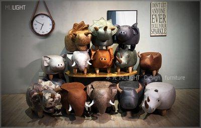 動物造型矮凳