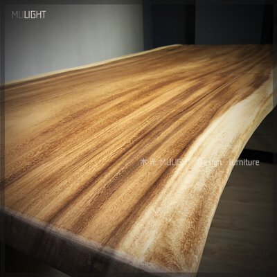 雨豆木餐桌/原木餐桌