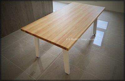 Bianca-北歐俐落斜腳實木桌