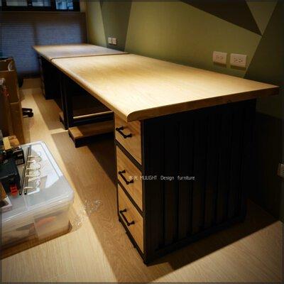 貨櫃造型收納抽屜桌(可訂製)