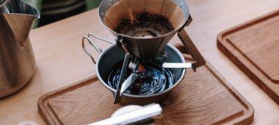 SnowPeak營地咖啡師組手沖ZeraCafe精品咖啡豆,低落的瞬間造成漣漪