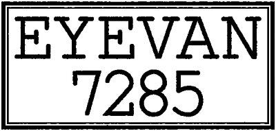 EYEVAN 7285 Logo