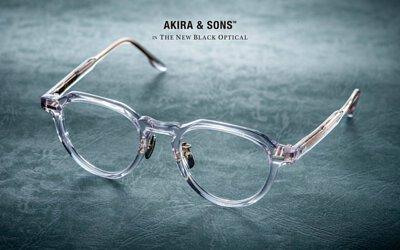 【全新品牌 AKIRA & SONS 賽璐珞系列 首發到荷! HANDMADE CELLULOID IN JAPAN】