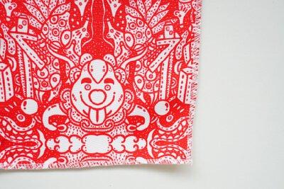 佛手柑與蝙蝠的福氣印花創新文化設計