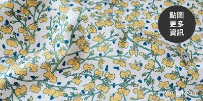 台灣文心蘭的印花布印花設計