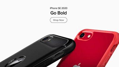 Spigen iPhone SE 2020 手機保護殼系列