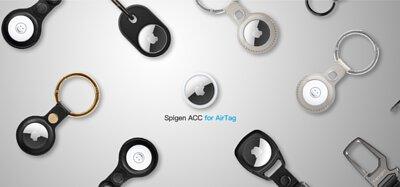 Spigen AirTag-保護套鑰匙圈