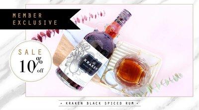 Member Exclusive-Kraken Black Spiced