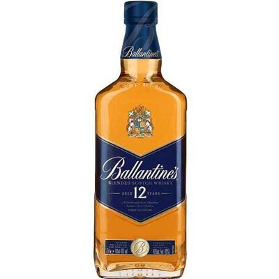 Ballantine's 12 year old scotch whisky