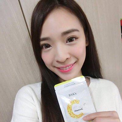 周妍杏 Angeline Chou:吃BHK's 光萃維他命C 讓我氣色比較好,痘疤也淡了!