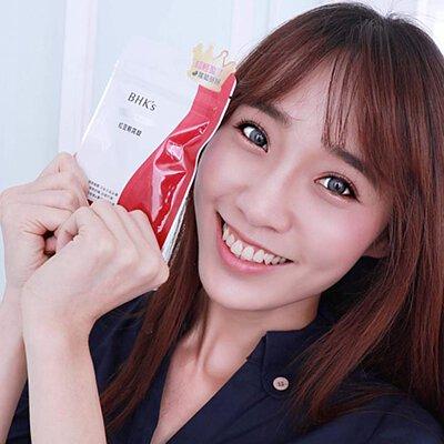 微笑女孩—陳巧玟:吃BHK's 紅豆輕窕錠真的大大的改善了水腫狀況耶!