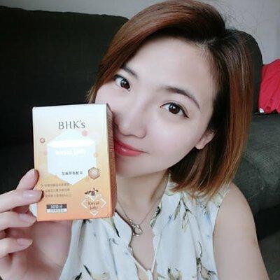 江佳玲 Erica Jia:吃BHK's蜂王乳錠 氣色比以前好,還可以補充體力!