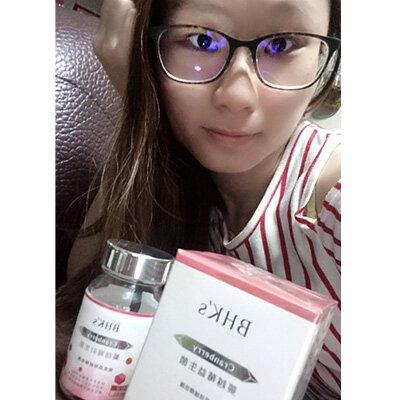 行政助理 RURU:吃了一個月BHK's蔓越莓益生菌改善許多,妹妹不再覺得悶熱,反而覺得清爽