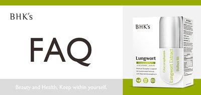 BHK 療肺草 Q & A