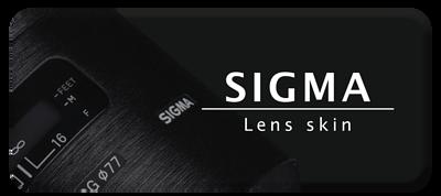 sigma lens skin