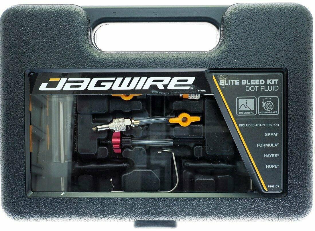 Jagwire DOT Fluid Elite Bleed Kit Includes SRAM//Formula//Hayes//Hope adapters