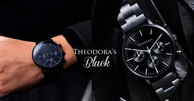 apollo, matte black, chronograph