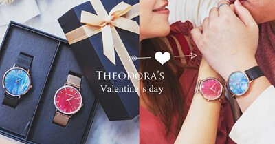 Valentinesday, couple, gift set, watch