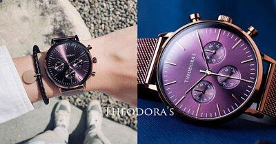 手表,时髦,咖啡红