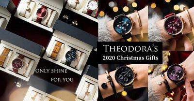 THEODORA'S, 手表, 圣诞, 礼物, 礼盒, 饰品