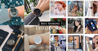 THEODORA'S, 手表, 礼物, 社群媒体,太阳能