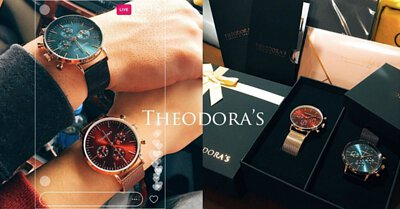 THEODORA'S, 手表, 情侣, 情人节, 礼物