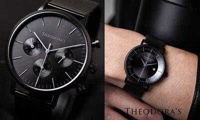 THEODORA'S, 手表, 饰品, 皮夹, 墨镜, 黑