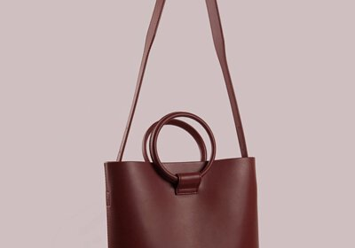 Round Handle Medium Tote