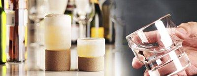 雙層玻璃冰鎮杯