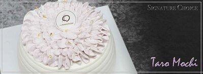 Signature Choice - Taro Mochi Shortcake