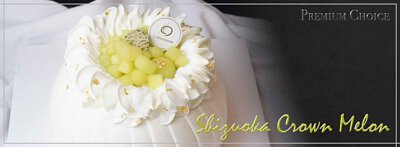 Premium Choice - Shizuoka Crown Melon Shortcake