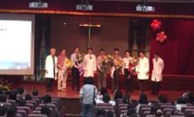 2015-11-12馬偕醫院頒發八仙塵暴醫師感謝獎