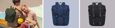 超輕後背包,旅行、日常實用尼龍背包