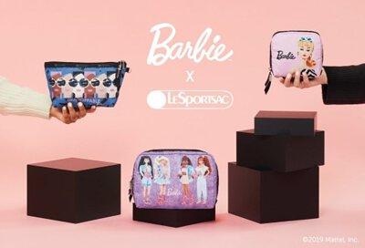 lesportsac barbie 芭比聯名, 網路限定化妝包