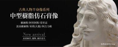 中型石膏像(樹脂)15cm-共六款