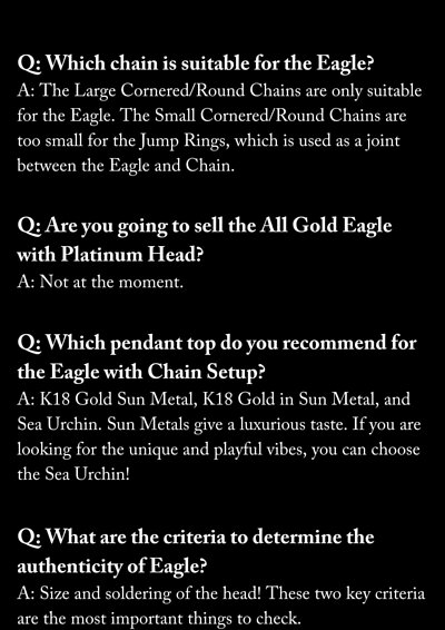 goro's Eagle FAQ
