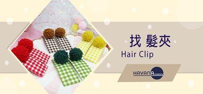havana accessory 髮夾