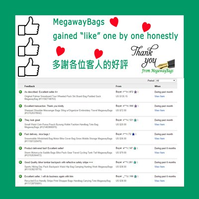 MegawayBags gained <Like> honestly