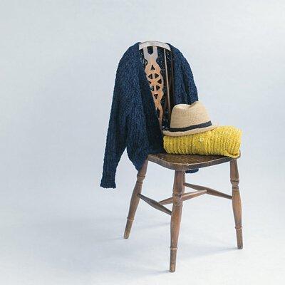 梵谷有左耳-春天的針織外套