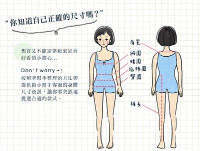 你知道如何測量身體胸圍腰圍臀圍嗎?