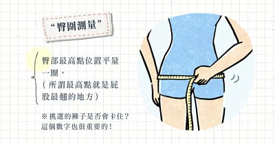 如何測量臀圍