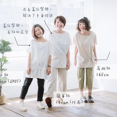 {凡人穿搭企劃}三種身型女子詮釋的超真實穿搭心得
