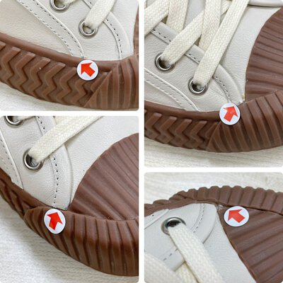 低筒真皮軟餅乾鞋瑕疵狀態說明